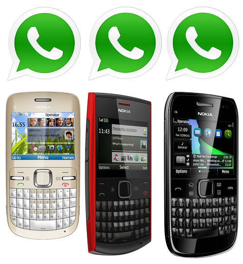 Whatsapp download nokia 500