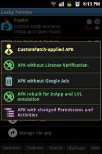 Lucky Patcher is one of them which provides amazing control to the user over the permissions required for apps to be installed.